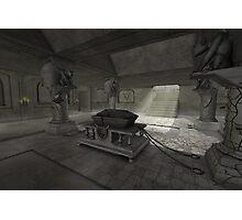 underground crypt Photographic Print