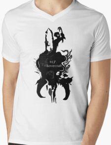 Dunwich Horror H.P. Lovecraft Mens V-Neck T-Shirt