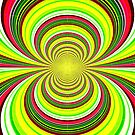 Spiral iPhone Case by Fara