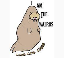 The Beatles inspired t-shirt. I am the walrus drawn on Adobe Illustrator Unisex T-Shirt