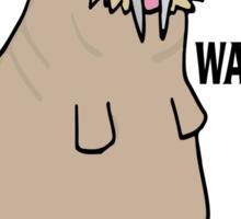 The Beatles inspired t-shirt. I am the walrus drawn on Adobe Illustrator Sticker