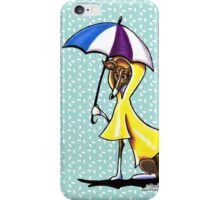 Italian Greyhound Day for a Duck iPhone Case/Skin
