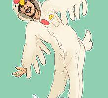 Markiplier - Chicken Kigurumi by Shuploc