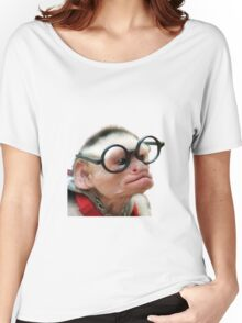 Funny Monkey Women's Relaxed Fit T-Shirt