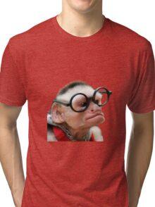 Funny Monkey Tri-blend T-Shirt