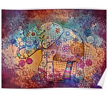 indie elephant Poster