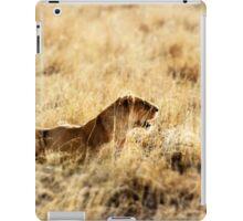 Stalking prey iPad Case/Skin