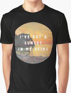sunset in my veins Graphic T-Shirt