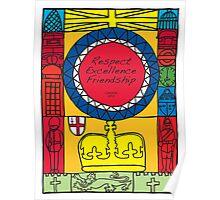 Great Britain Illustration 'London 2012' Poster
