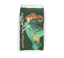 The Green Wizard Duvet Cover