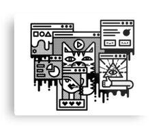 Hello Internet Metal Print