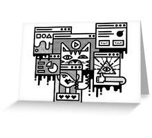 Hello Internet Greeting Card