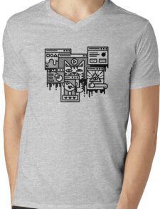 Hello Internet Mens V-Neck T-Shirt