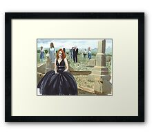 Queen Of The Undead Framed Print