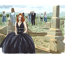 Queen Of The Undead Photographic Print