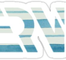NERVO Logo Striped Sticker