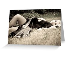 lust for music Greeting Card