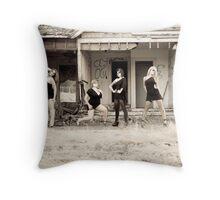 torn down Throw Pillow