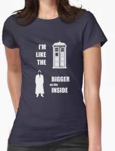 Like the TARDIS - Doctor Who Womens Fitted T-Shirt