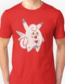 Clefable Pokemuerto | Pokemon & Day of The Dead Mashup T-Shirt