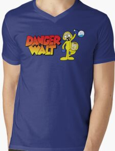 Danger Walt Mens V-Neck T-Shirt