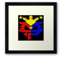 Manny Pacquiao Pac-Man Boxing Champion Framed Print