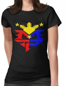 Manny Pacquiao Pac-Man Boxing Champion Womens Fitted T-Shirt