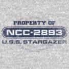 Property Of USS Stargazer (BG) by justinglen75