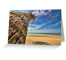 Palm tree in Koh Samui #2 Greeting Card