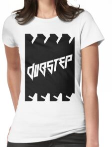 DUBSTEP (VICTORY) BLACK Womens Fitted T-Shirt