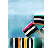 liquorice sea sculpture I Photographic Print