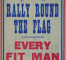 Rally round the flag Every fit man wanted by wetdryvac