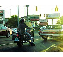 Sunset Traffic Photographic Print