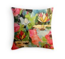 """Everlasting Spring"" Throw Pillow"