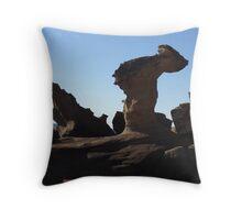 Natural sculpture Throw Pillow