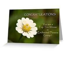 Top Ten Banner Greeting Card