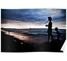Farol Beach, Dili Poster