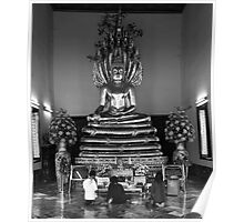 Bangkok - Wat Pho - Vihara (Shrine) Poster