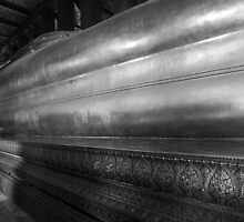 Bangkok - Wat Pho - Temple of the Reclining Budda by Mark Bolton