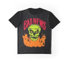 BAD NEWS logo Comic Strip Presents Graphic T-Shirt