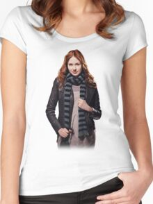Amy Pond - The Girl Who Waited Women's Fitted Scoop T-Shirt