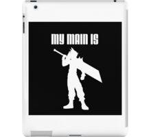 My Main Is Cloud (Smash Bros) iPad Case/Skin