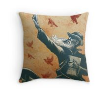 Evolution: A Tribute to Charles Darwin Throw Pillow