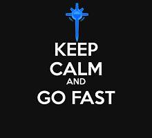 Keep Calm and Go Fast - Diamond Sword Unisex T-Shirt