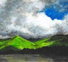 Kylemore Lake, Ireland by Varvara Drokova