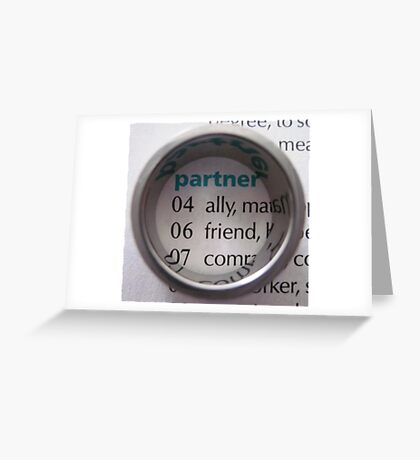 Partner Greeting Card