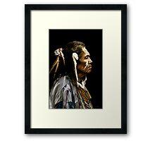 Native American - Dakota Framed Print