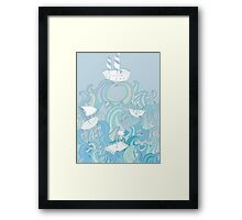 Keep floating! Framed Print