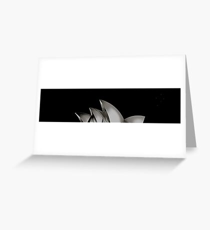 Icons Aligned Greeting Card