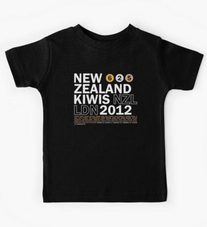 Team New Zealand 2012 Kids Tee